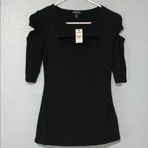 Express black shirt